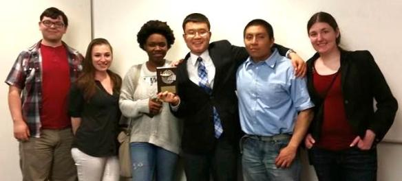 SBU-SPJ members won the 2015 Student Life Media Service Award, given to campus organizations dedicated to promoting student journalism and offering media opportunities to students on Stony Brook campus.